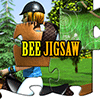 Bee Jigsaw Horse Jumping